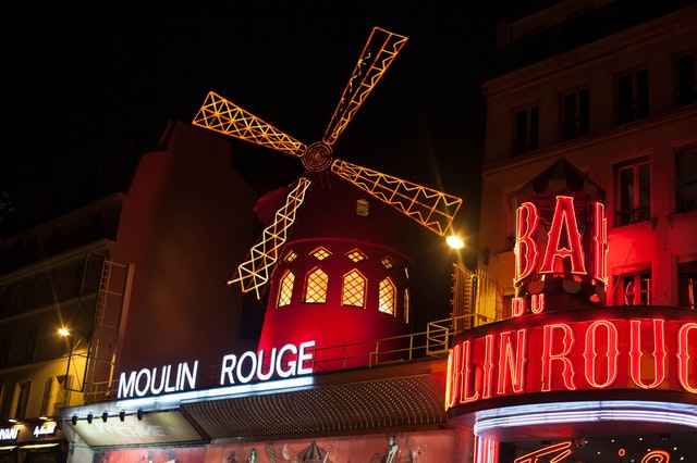 Moulin Rouge w Paryżu